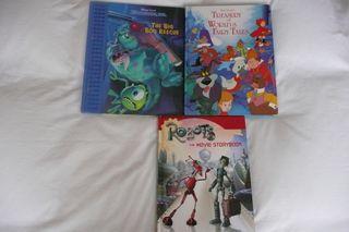 3 libros grandes, infantiles en Inglés