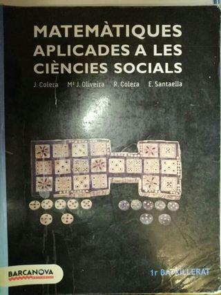 Libro matemáticas 1r bachillerato
