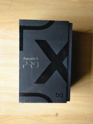 Bq Aquaris X Pro-(Funda mas tarjeta/Sin Estrenar)-