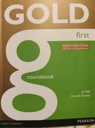 Libro de inglés first
