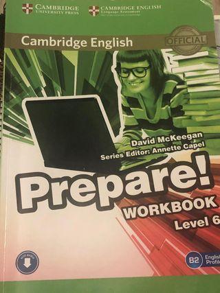 Workbook prepare! Level 6 (cambrige)