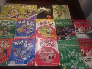 Libros aprendizaje de inglés
