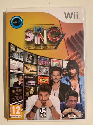 ¡Juego Let's Sing para la Wii mini!