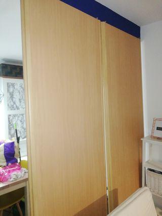 puertas armario empotrado con guias