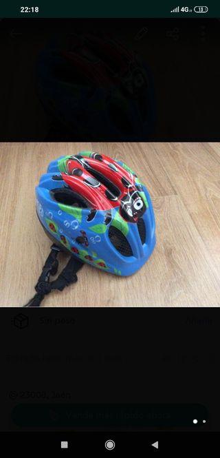 Casco infantil para bici o patines