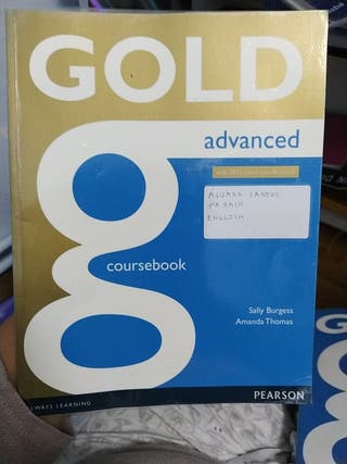 PACK LIBROS INGLÉS GOLD ADVANCED
