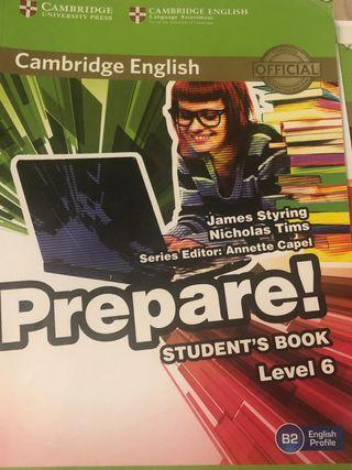 Student book prepare! Level 6 (cambrige)