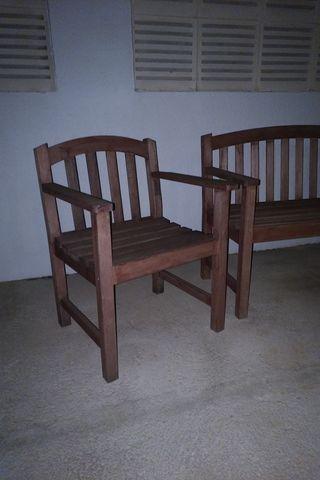 sofa banco y 2 sillones