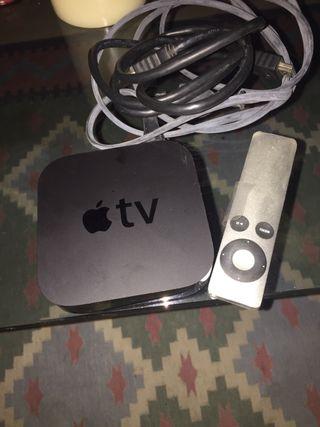 Apple TV con mando distancia