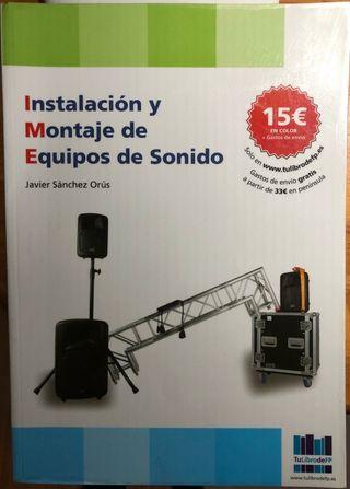 """""""Instalación y montaje de equipos de sonido"""""""