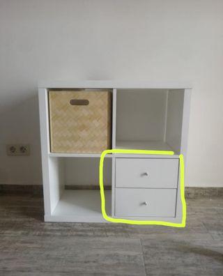 Cajones mueble Kallax Ikea