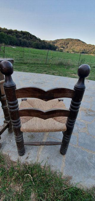 Mueble antiguo+ 2 sillas