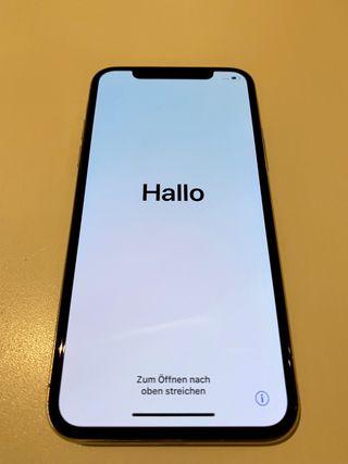 Iphone X como nuevo