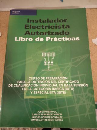 2 libros de prácticas de instalador electricista