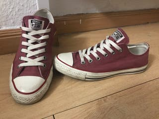 Converse bajas washed out