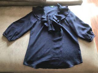 Blusa, camisa seda Ralph Lauren