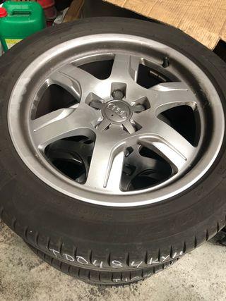 Neumáticos + llantas Audi