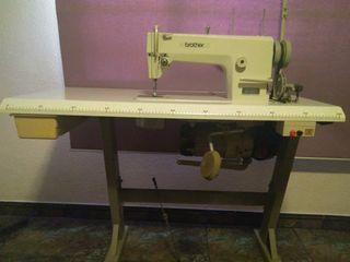 Máquina coser plana industrial