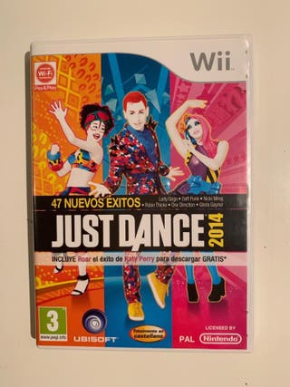 ¡Juego Just dance para la Wii mini!
