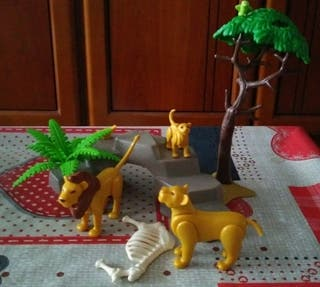 leones playmobil