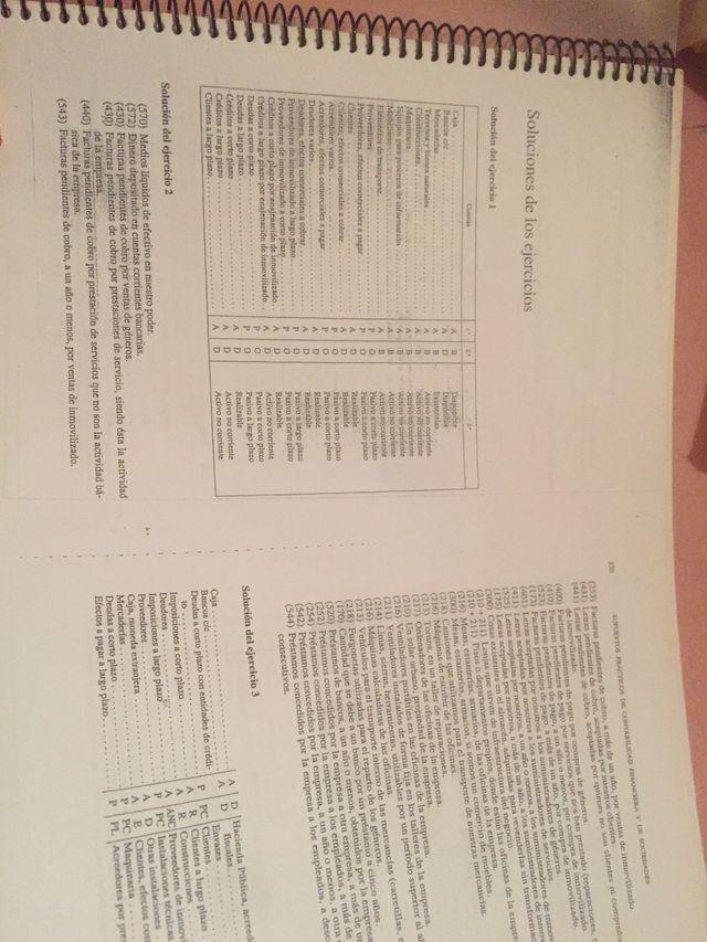 Solucionario Supuestos Practicos De Contabilidad De Segunda Mano Por 12 Eur En Ferrol En Wallapop
