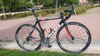 bici carretera carbono vitus. talla m. 8,3 kg