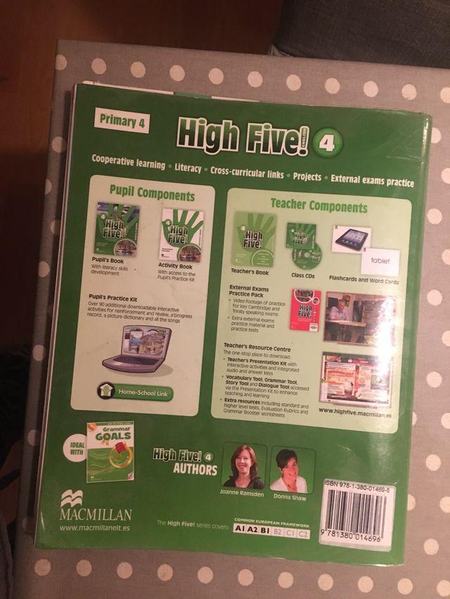 High Five pupil's book 4 primaria