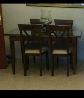 2 mesas salón