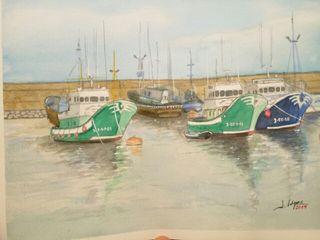 Barcos en el puerto.
