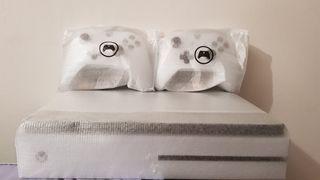 Xbox One S blanca 1 TB con 2 Mandos