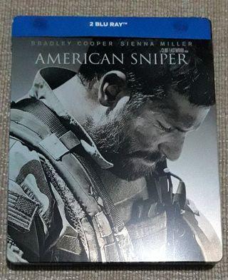 el francotirador american sniper steelbook blu-ray