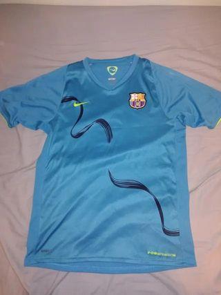 camiseta de entreno fc barcelona