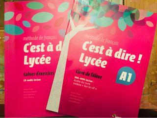 Libros francés 1° Bachillerato