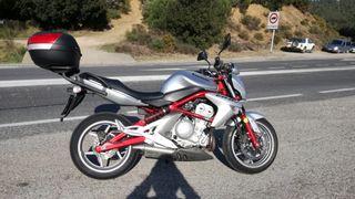 Vendo Kawasaki ER6N 650cc.
