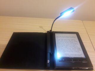 E-reader (ebook) Sony PRS 650 con funda (luz)