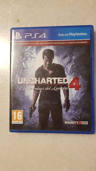 Uncherted 4, para Ps4
