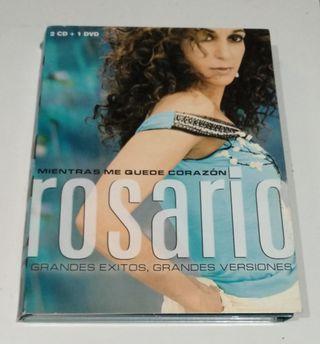 ROSARIO / 2CD+DVD / MIENTRAS ME QUEDE CORAZÓN