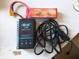 Bateria LiPo 11.1V 2200mAh más cargador