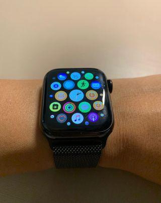 Apple Watch series 4 acero 44mm