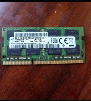 Memoria RAM DDR3 SODIMM 8Gb
