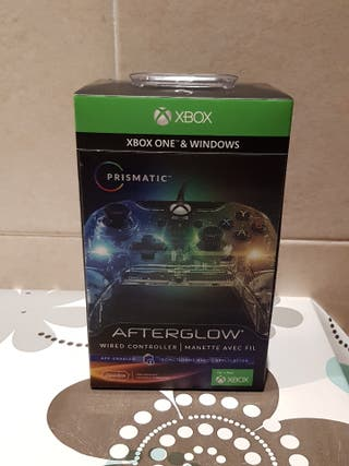 PDP - Mando Afterglow Prismatic Licenciado (Xbox O