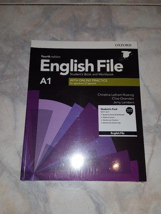 English File A1 Oxford ¡¡NUEVO SIN ABRIR!!