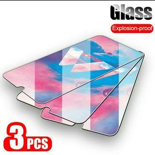 3 Cristales Templados Samsung Galaxy A50.