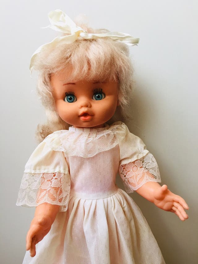 Muñeca antigua no nancy