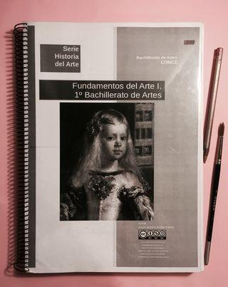 Libro fundamentos del arte, 1° bachillerato