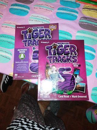 inglés tiger tracks,,, MacMillan... 5 de primaria