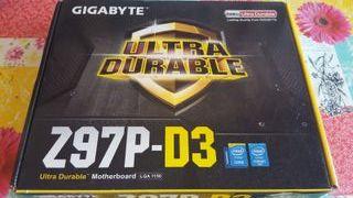 Placa Base Gigabite Z97 D3 a estrenar