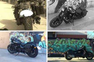Daelim Daystar Black FI 125cc Customizada