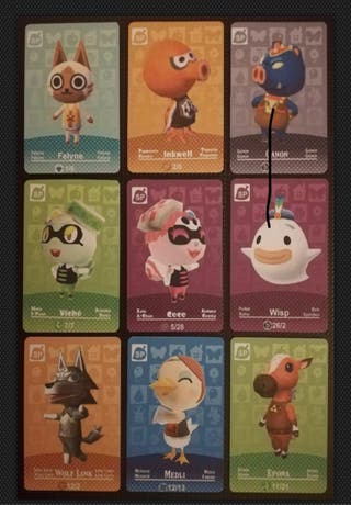 Amiibos Especiales Animal crossing