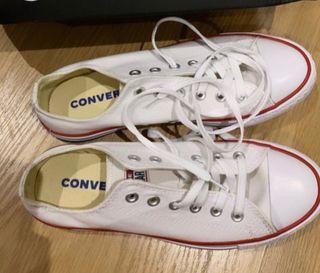 converse blancas 40